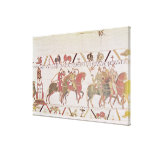 William's  army going to Mont Saint-Michel Canvas Prints