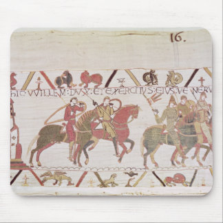 William's  army going to Mont Saint-Michel Mouse Pads