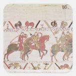 William's  army going to Mont Saint-Michel Sticker