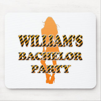 William's Bachelor Party Mouse Pad