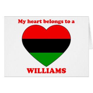 Williams Cards