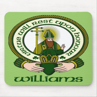 Williams Clan Motto Mouse Pad