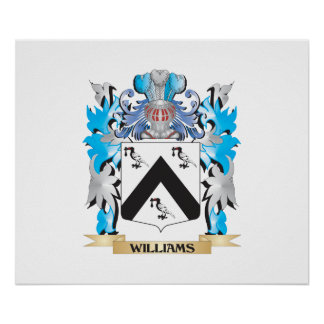 Williams Coat of Arms - Family Crest Poster