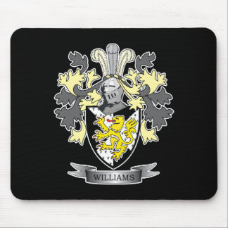 Williams Coat of Arms Mouse Pad