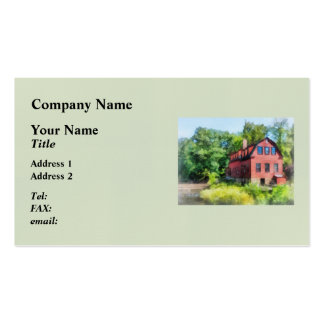 Williams-Droescher  Mill Double-Sided Standard Business Cards (Pack Of 100)