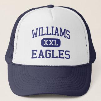 Williams Eagles Middle Saint Louis Missouri Trucker Hat