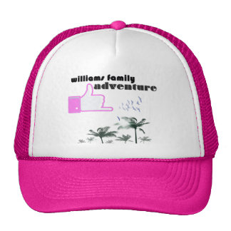 Williams Family Adventure Trucker Hat