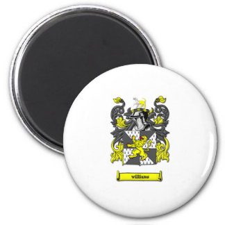 Williams Family Coat of Arms 2 Inch Round Magnet