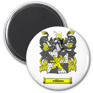 Williams Family Coat of Arms Refrigerator Magnet