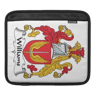 Williams Family Crest iPad Sleeves