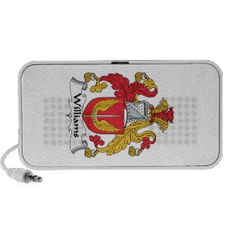 Williams Family Crest iPod Speakers