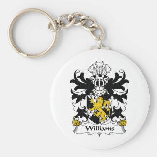 Williams Family Crest Keychain