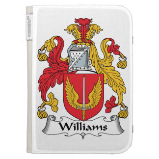Williams Family Crest Kindle Cover