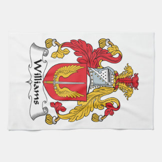 Williams Family Crest Kitchen Towels