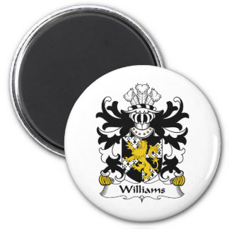 Williams Family Crest Magnet
