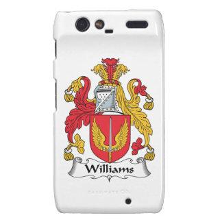 Williams Family Crest Motorola Droid RAZR Cover