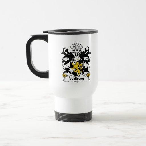 Williams Family Crest Mugs