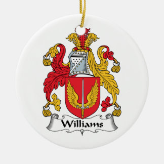 Williams Family Crest Ornaments