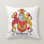 Williams Family Crest Pillow