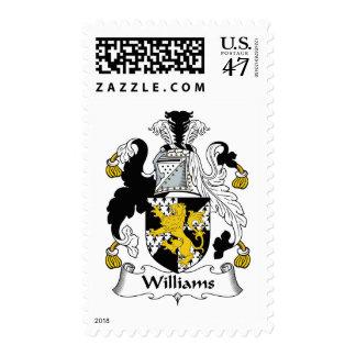 Williams Family Crest Postage