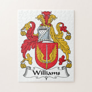 Williams Family Crest Puzzle