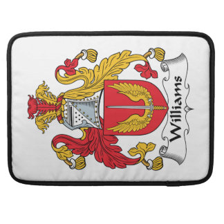Williams Family Crest Sleeves For MacBook Pro