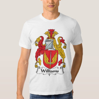 Williams Family Crest T Shirt