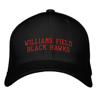 Williams Field Black Hawks Embroidered Baseball Cap