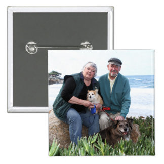 Williams Foxy and Corky Photo 1 Pinback Buttons