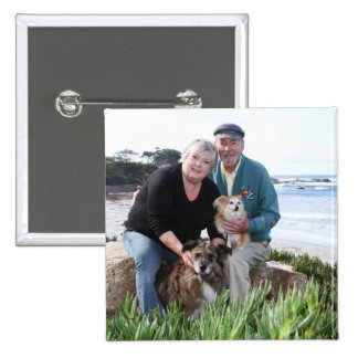 Williams Foxy and Corky Photo 3 Button