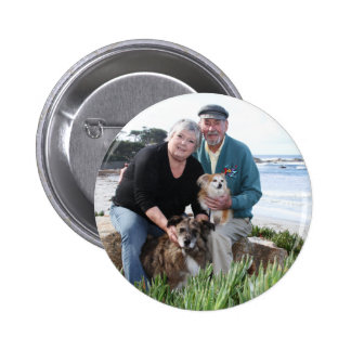 Williams Foxy and Corky Photo 3 Pinback Buttons