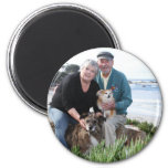 Williams Foxy and Corky Photo 3 Refrigerator Magnet