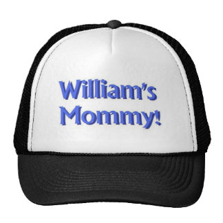 William's Mommy Trucker Hat