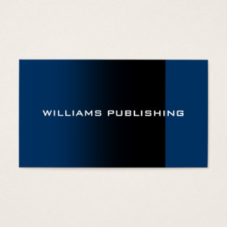 """Williams Publishing"" Business Card"