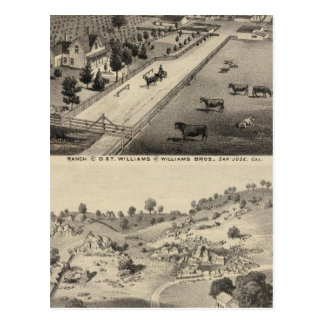 Williams Ranch, Goodrich Quarry Postcard