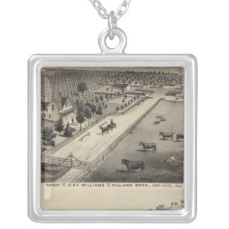 Williams Ranch, Goodrich Quarry Silver Plated Necklace