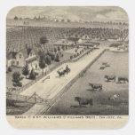 Williams Ranch, Goodrich Quarry Square Stickers