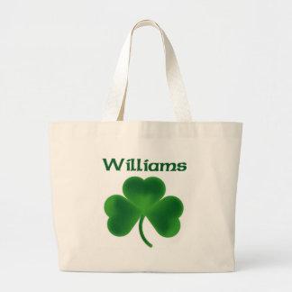 Williams Shamrock Large Tote Bag