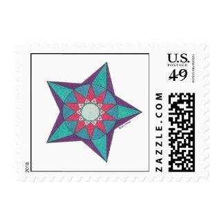 William's Star Stamp