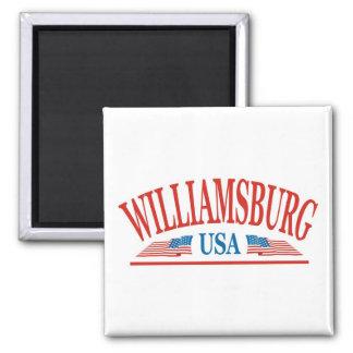 Williamsburg 2 Inch Square Magnet