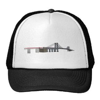Williamsburg Bridge: 3D Model: Trucker Hat