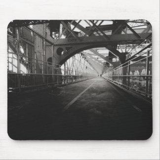 Williamsburg Bridge Architecture - New York City Mouse Pad