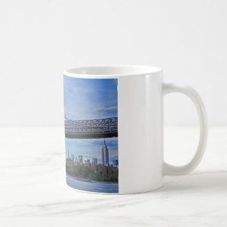 Williamsburg Bridge, Empire State Building #1 Coffee Mug