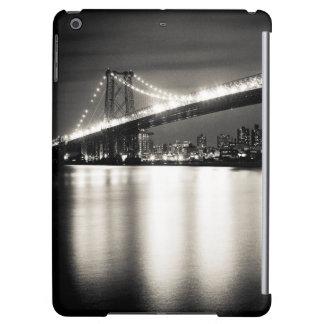 Williamsburg bridge in New York City at night Cover For iPad Air