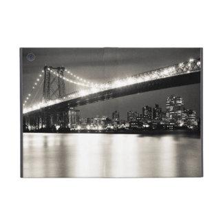 Williamsburg bridge in New York City at night iPad Mini Case