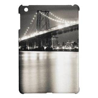 Williamsburg bridge in New York City at night iPad Mini Cover