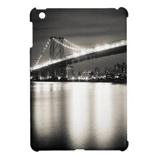 Williamsburg bridge in New York City at night iPad Mini Covers