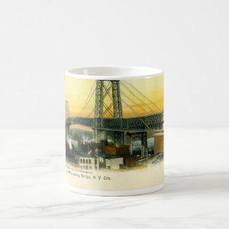 Williamsburg Bridge, New York City, 1905 Vintage Coffee Mug