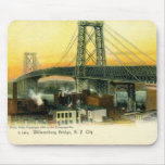 Williamsburg Bridge, New York City, 1905 Vintage Mouse Pad