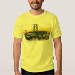 Williamsburg Bridge, New York City, 1905 Vintage Shirts
